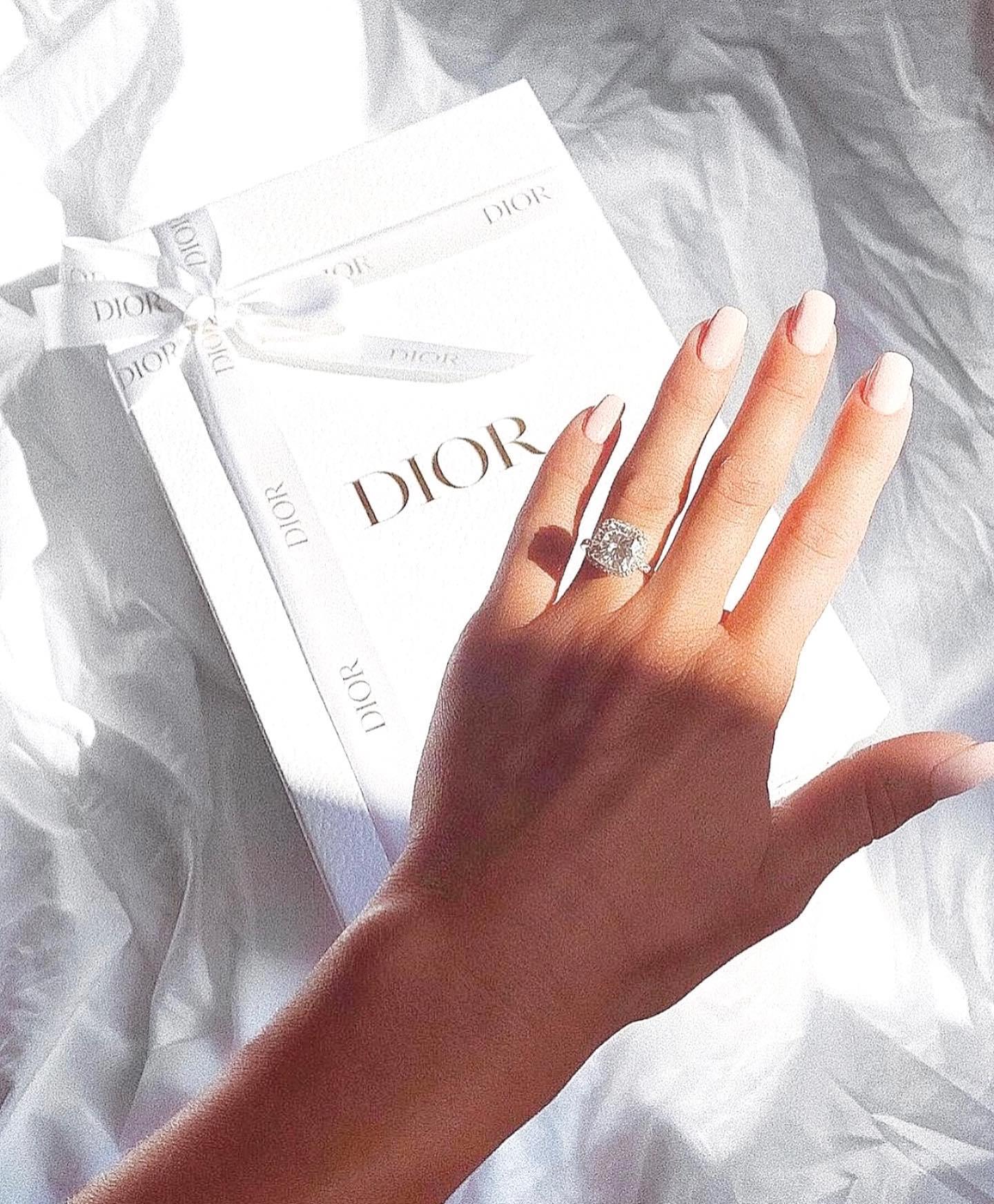 Heaven... Diamonds & Dior 💍✨