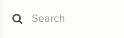 Chart Search input