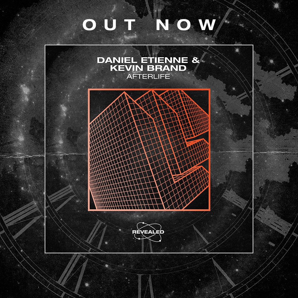Album artwork for Daniel Etienne and Kevin Brands single called Afterlife