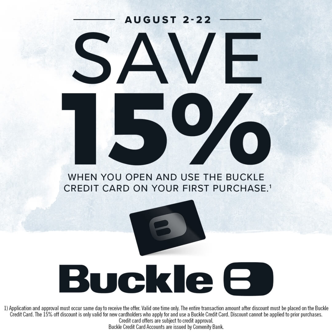 Buckle Save 15% poster