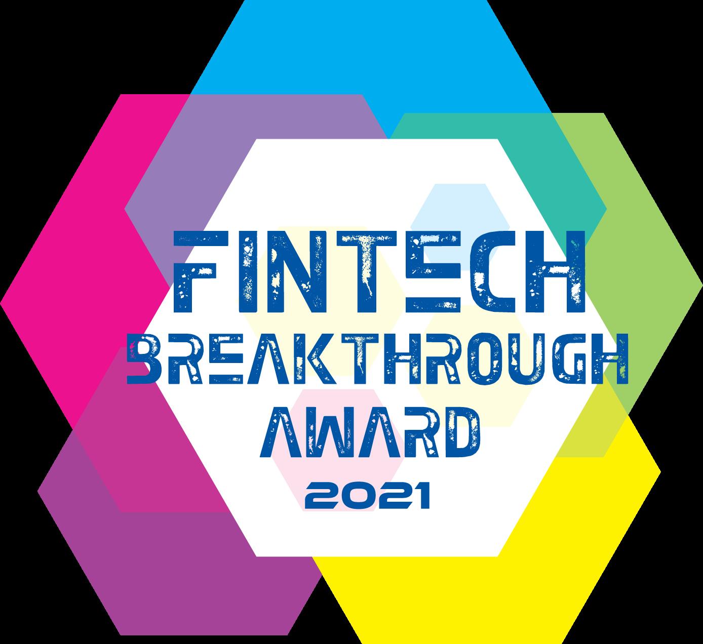 FinTech Breakthrough Award logo
