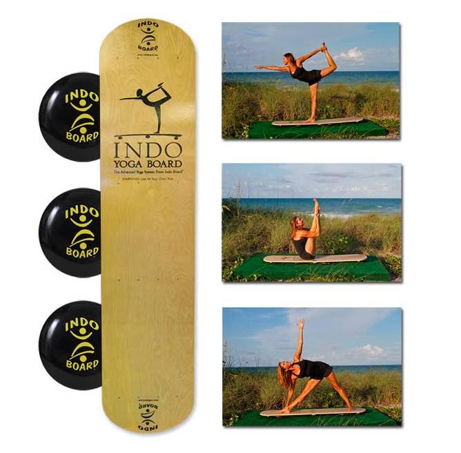 Indo Board Yoga Balance Board Exercies