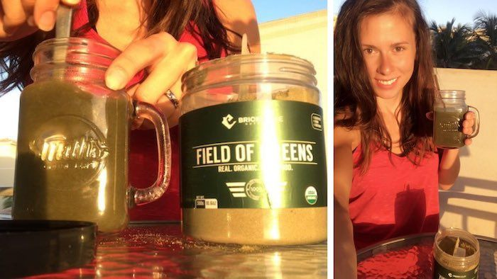 What field of greens tastes like