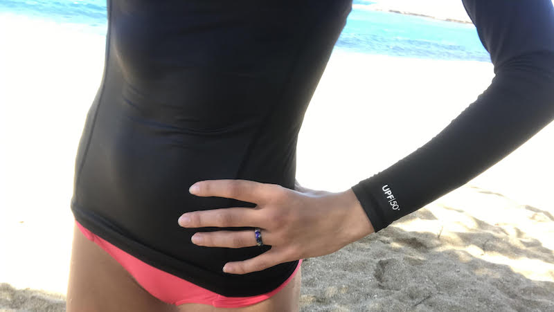 Beach sports with Groove ring