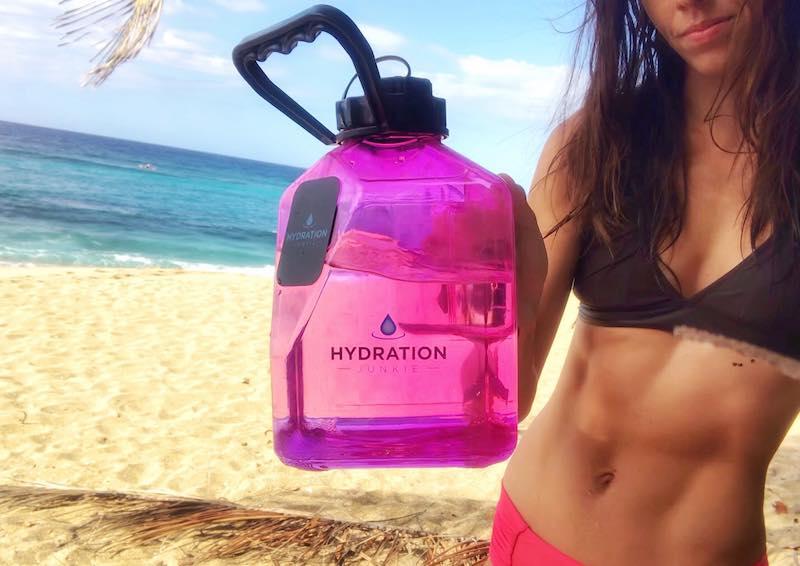 Hydration Jug On The beach
