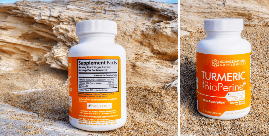 ingrenet and supplement information label