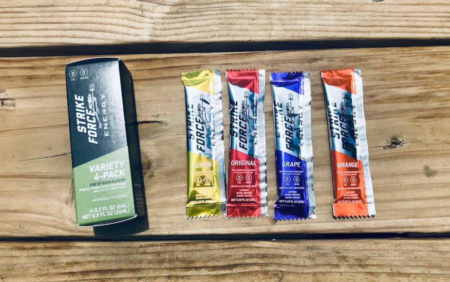 flavor sample packet
