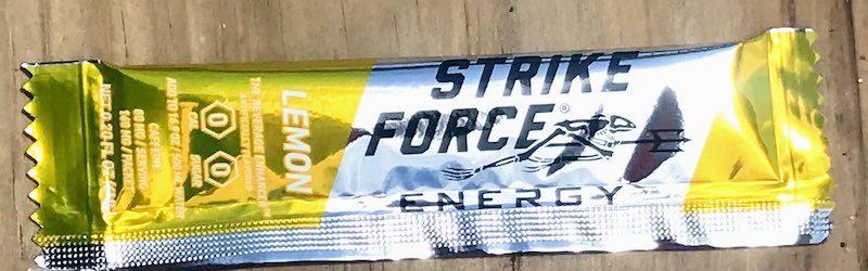 strike force energy lemon flavor