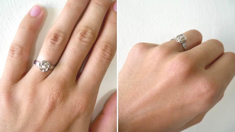 defender ring on finger