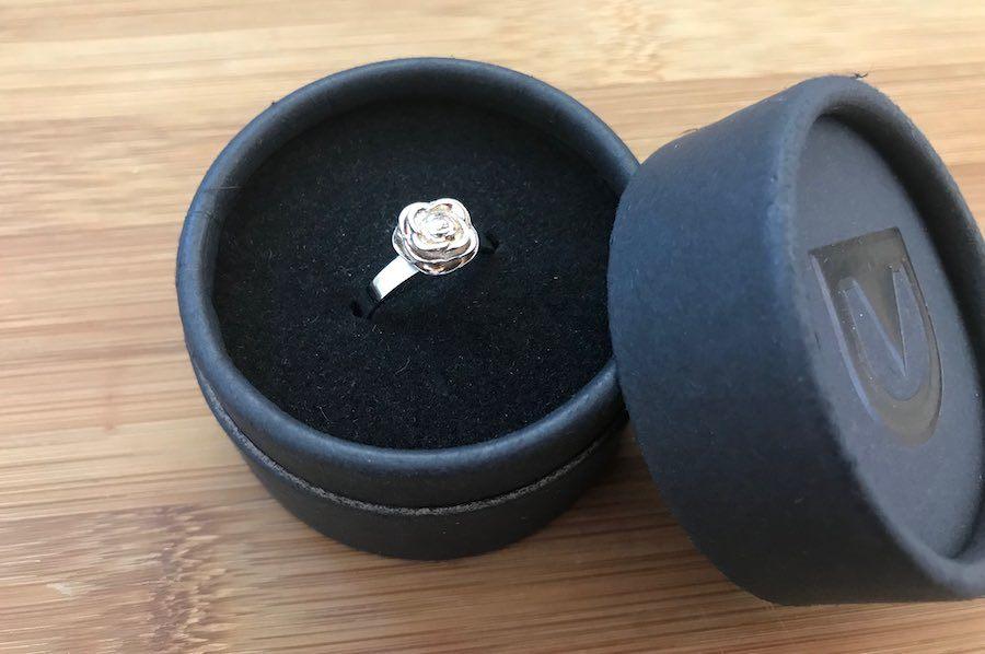defender ring in box