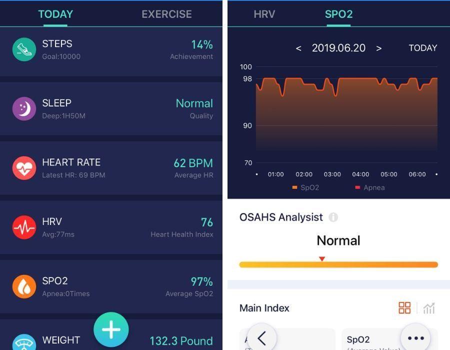 morepro app dashboard screen
