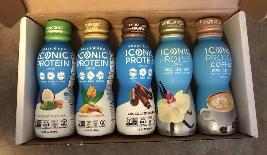 Iconic flavor options