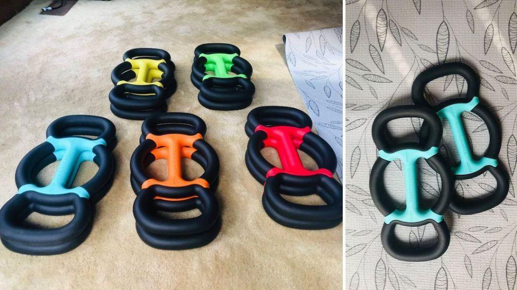 GRIPBELL weight set and design