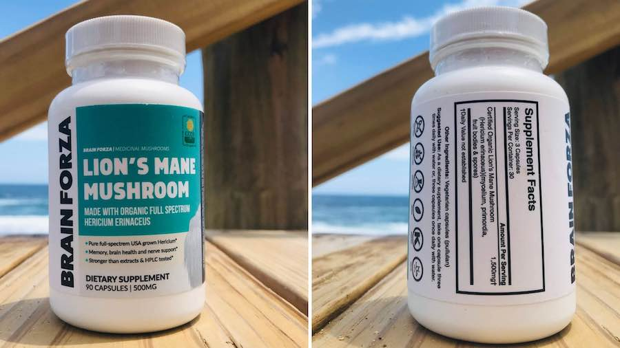 Supplement Ingredients Label