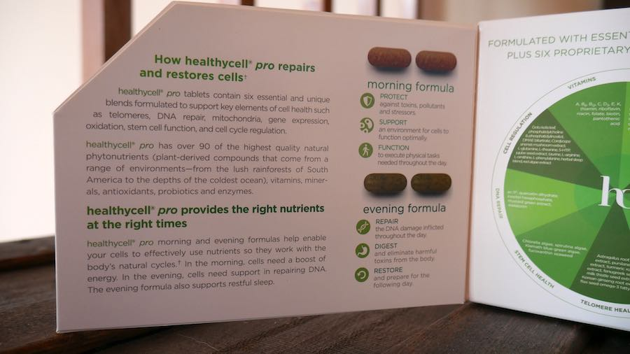 How Healthycell formula works