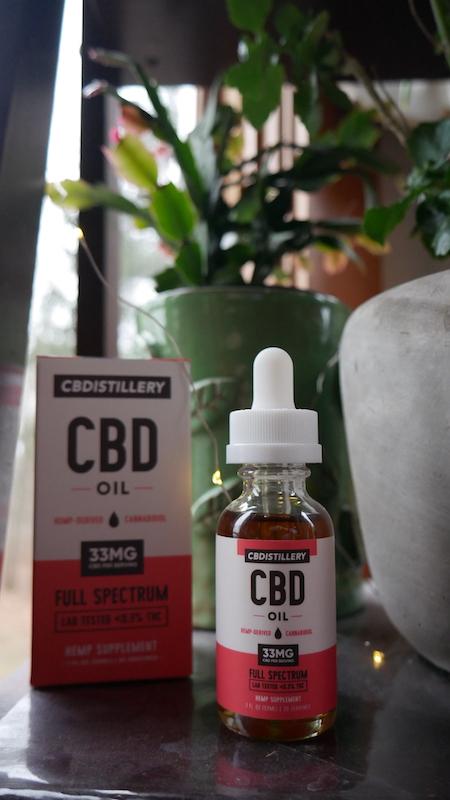 CBD Oil 1000mg bottle