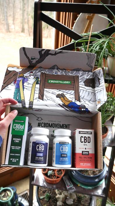 CBDistillery Box Delivery