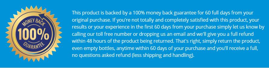 resurge money back guarantee refund policy