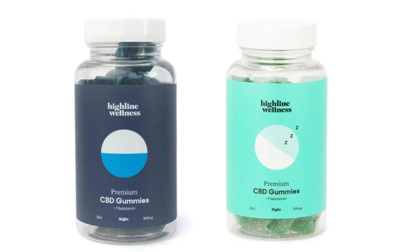 Night time cdb gummies with melatonin