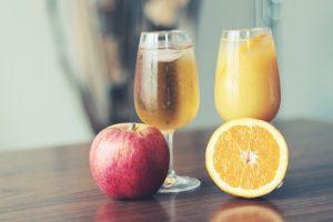 Apple and Orange Juice
