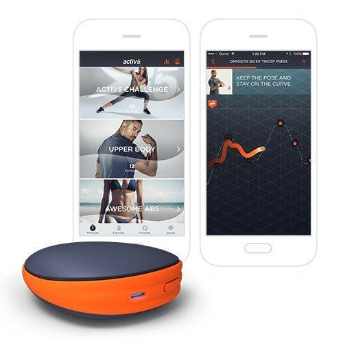 Activ5 desive design and smartphone app
