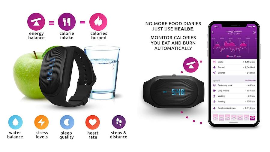 healbe gobe features  and smartphone app