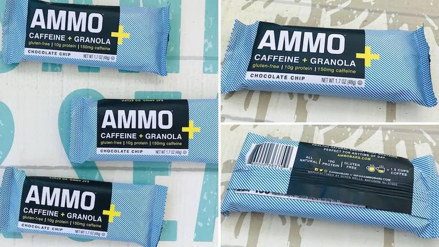 Ammo Energy Bar Caffeinated Granola Bar