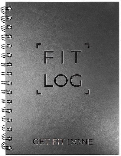 workout and fitness planner and log book