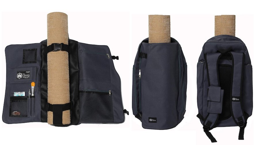 Yoga Sak gray yoga backpack