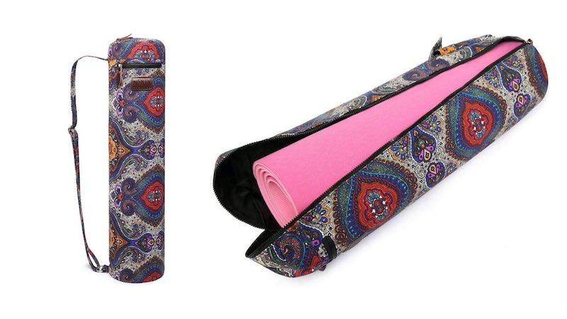 Fremous Yoga Mat Bag Unzipped