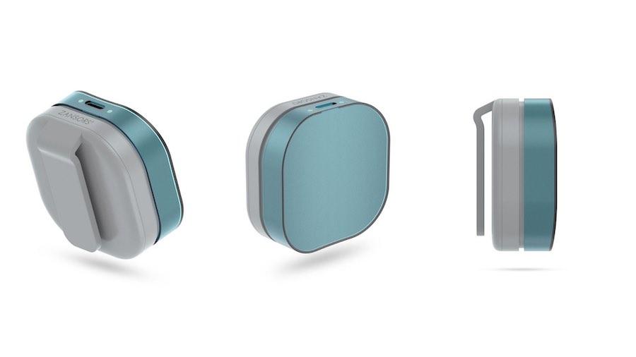 RESPA Yoga Breathing Sensor design
