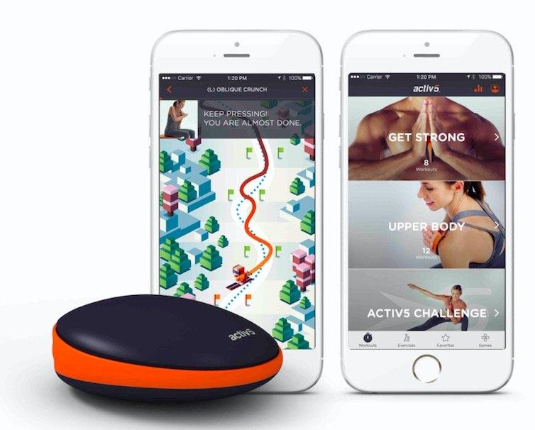 Activ5 App on Iphone