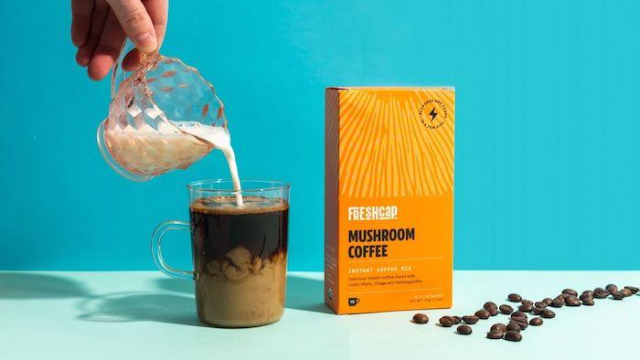 FreshCap Mushroom Coffee Drink