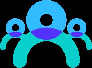 Icône composé de plusieurs silhouettes qui symbolisent les cercles de réflexion du Lab2e