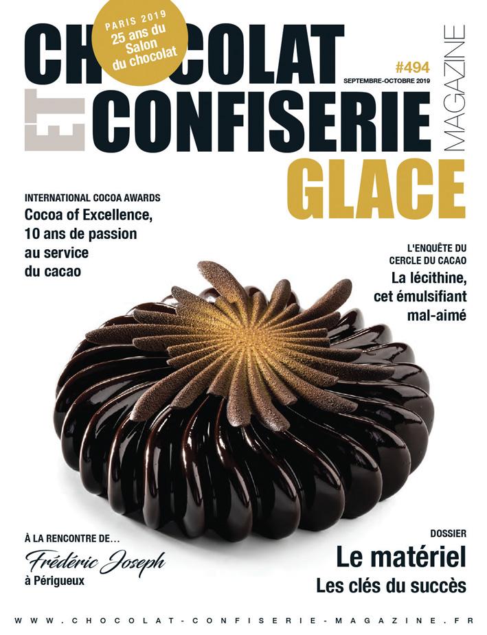 couverture magazine chocolat confiserie