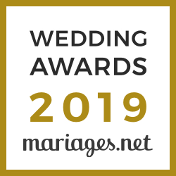 Badge Wedding Award 2019 mariage.net