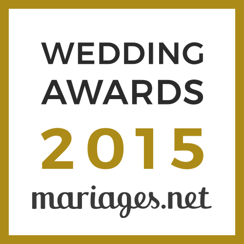 Badge Wedding Award 2015 mariage.net