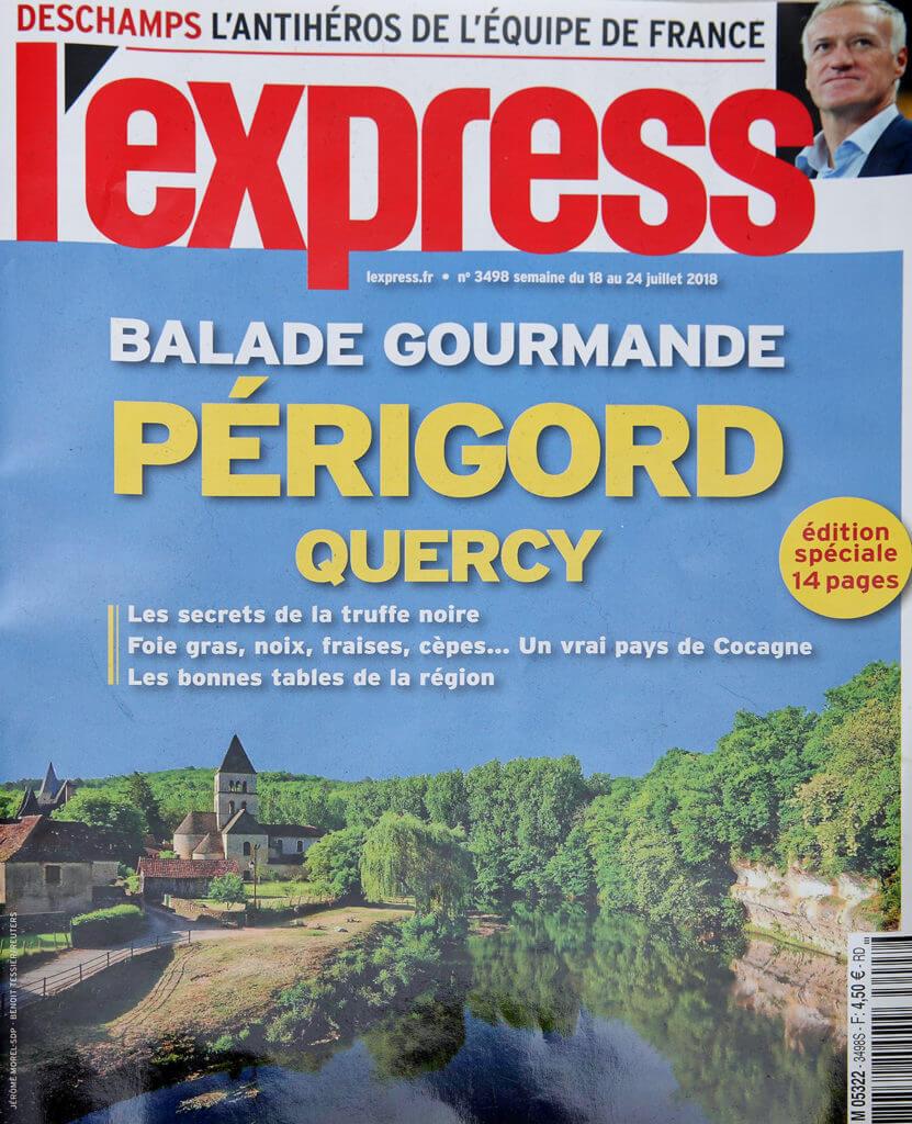 Couverture magazine l'express