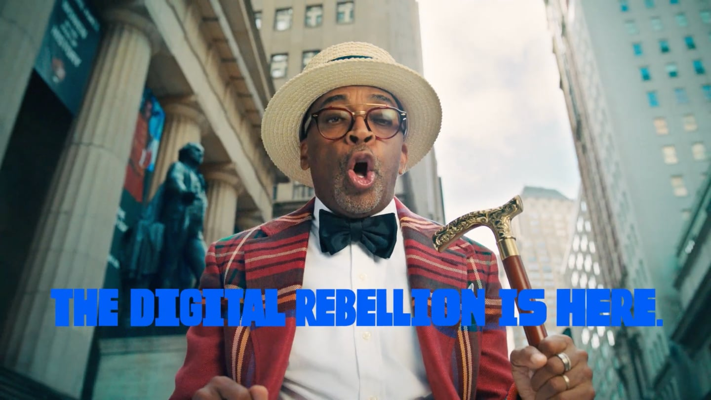 Spike Lee Declares 'Old Money Out' in a Star-Studded Short Film for Coin Cloud