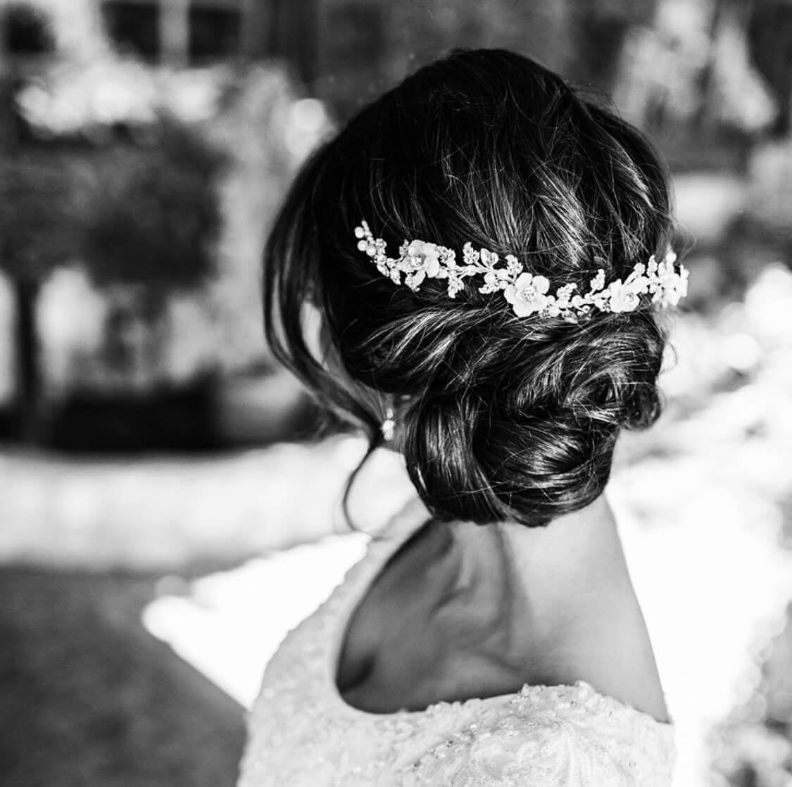 hairpieces quinceaneras weddings