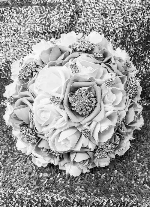 custom bouquets quinceaneras weddings