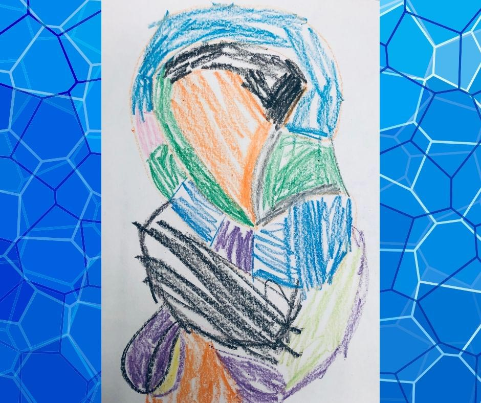 Preschooler's Impressive Art