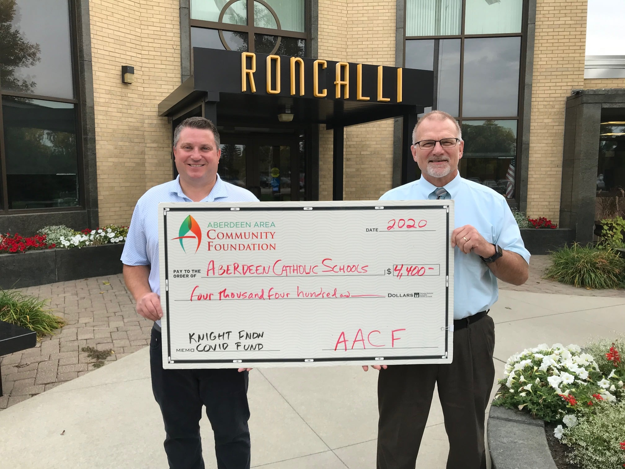 Aberdeen Area Community Foundation Provides Fountains