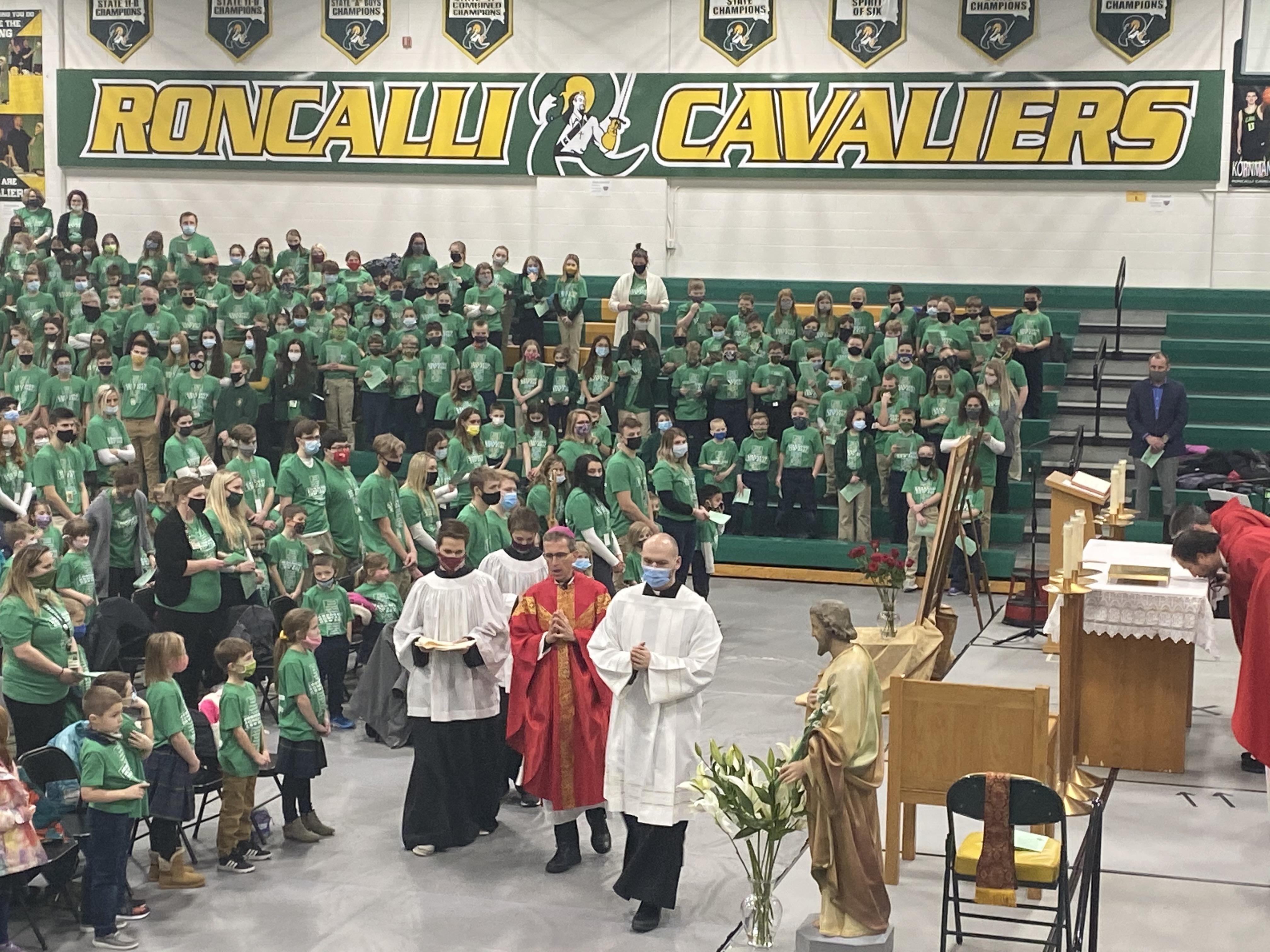 Catholic Schools Week All School Mass