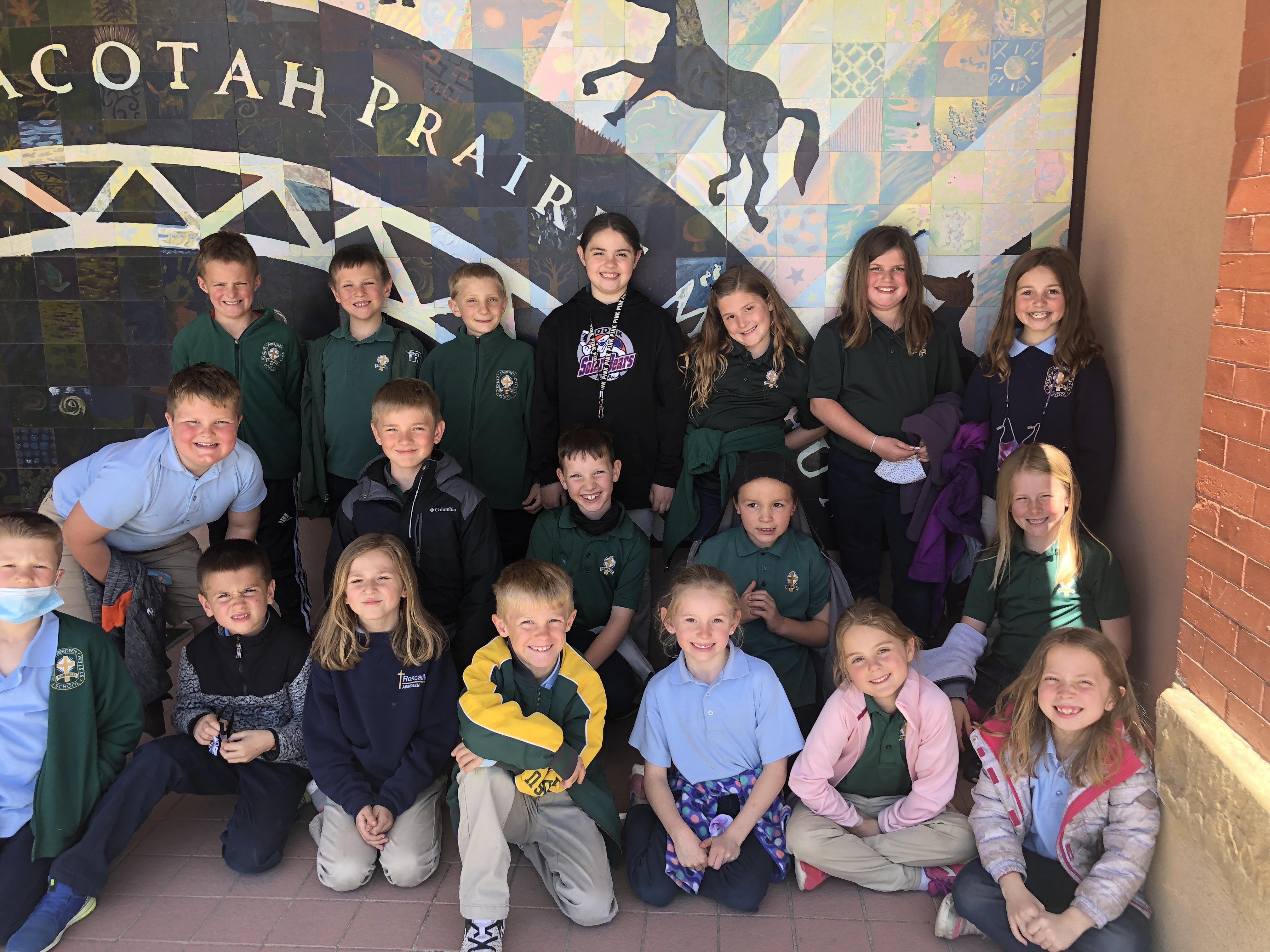 Second Grade Field Trip