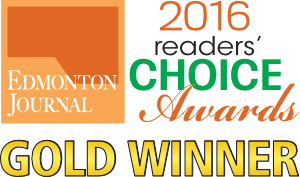2016 Readers Choice Award Edmonton Journal