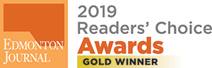 2019 Readers Choice Award Edmonton Journal