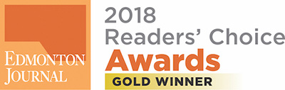 2018 Readers Choice Award Edmonton Journal