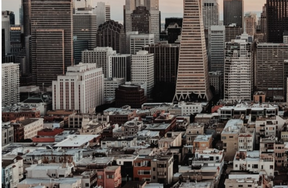 A picture of the San Francisco skyline