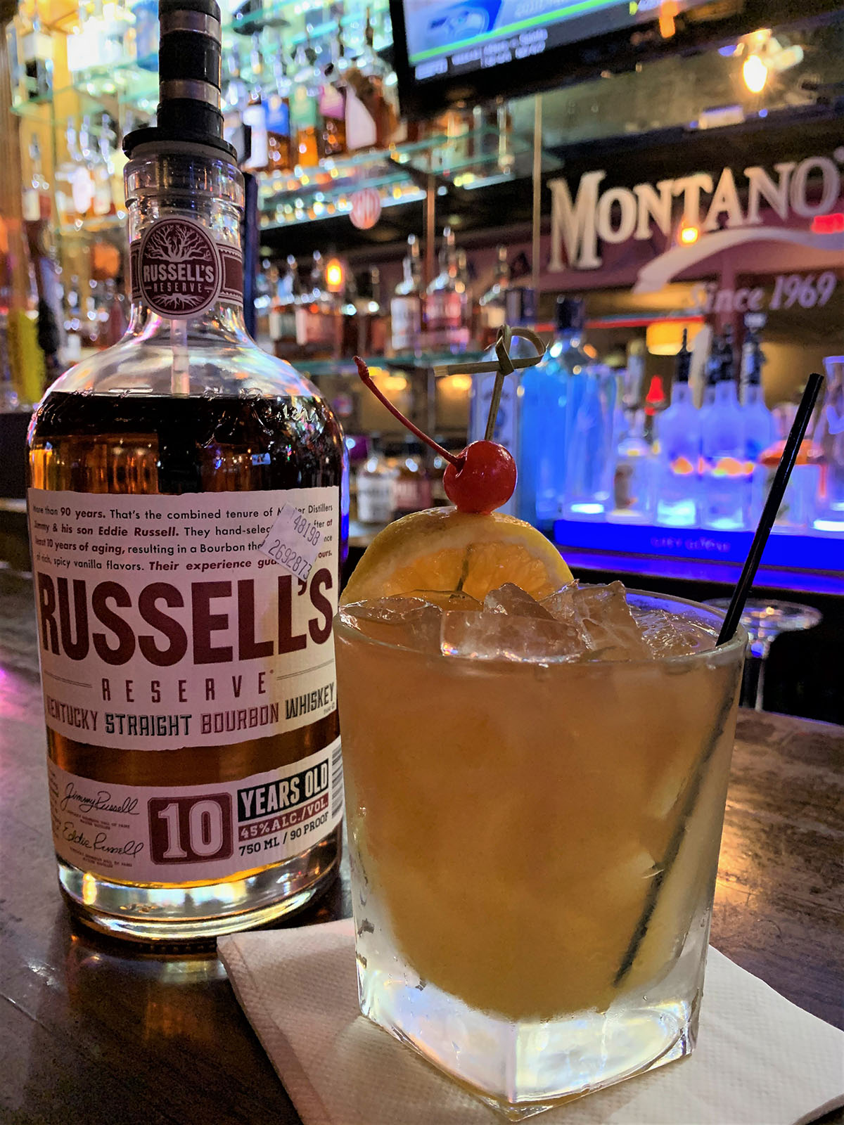 Russels Whiskey Cocktail